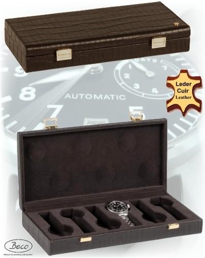 Uhrenbox / Uhrenetui SAXONIA von Beco Technic