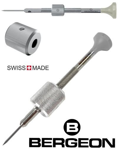 Bergeon Uhrmacher-Schraubendreher 5971 zum Lösen von Armbandschrauben