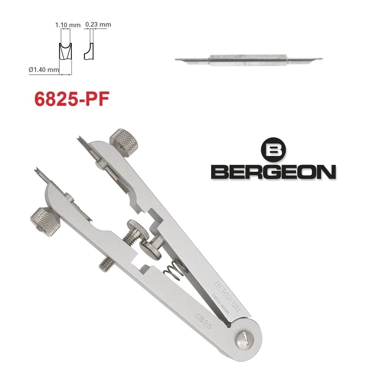 6825 Federstegzange V-förmige Demontage Demontage Uhrwerkzeugs mit 10 Stiften