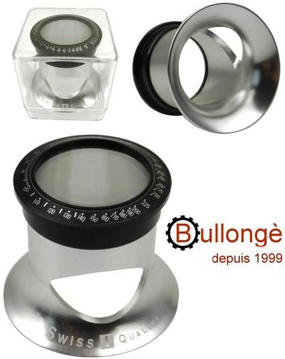 Uhrmacherlupe BULLONGÈ 5x im DTO-STYLE mit Lünette