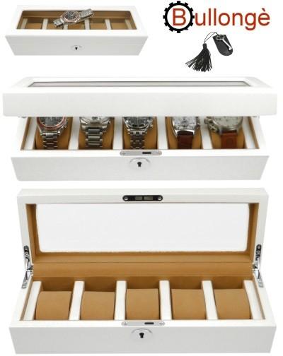Uhrenbox MONROE by BULLONGÈ für 5 Armbanduhren