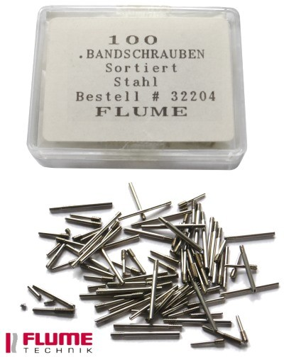 Bandschrauben Sortiment Stahl Flume Technic