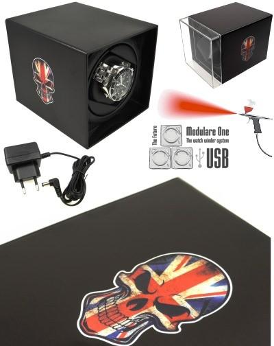 MODULARE ONE USB SKULL UK Uhrenbeweger PRO