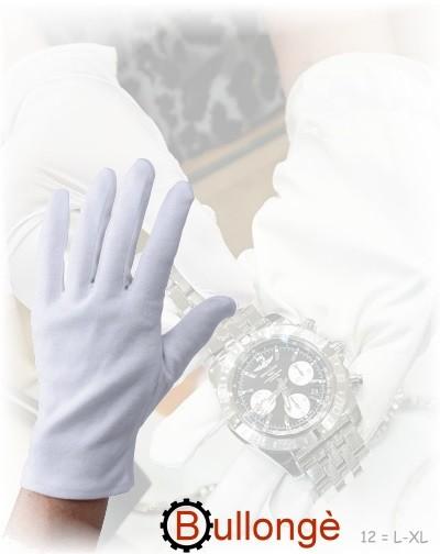 Feinste Baumwollhandschuhe Gr. 12 für Uhrmacher