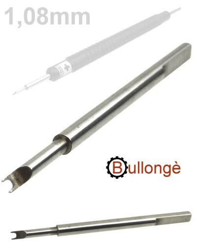 Ersatzgabel 1.08mm für Federstegbesteck 8767-RO BULLONGÈ
