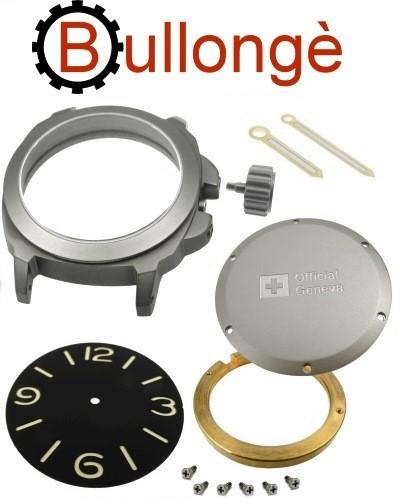 BULLONGÈ Uhrenbausatz No. 5 Military für ETA 2824